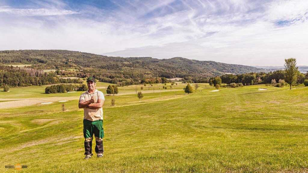Bio Rasen Golfplatz Maria Taferl Gerald Aininger