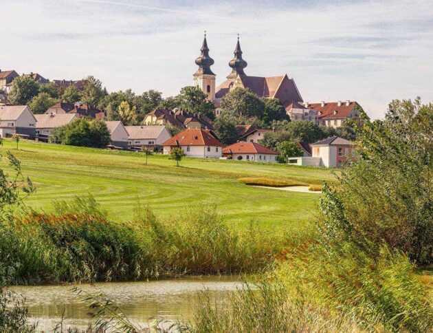 Golfplatz Maria Taferl Teichblick